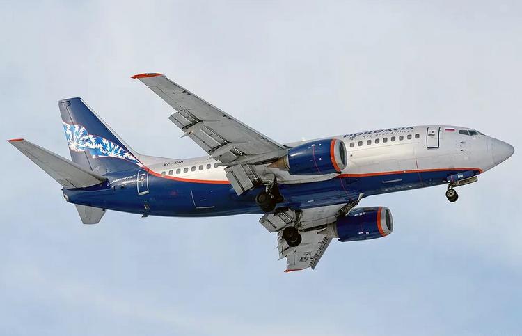 самолет Nordavia